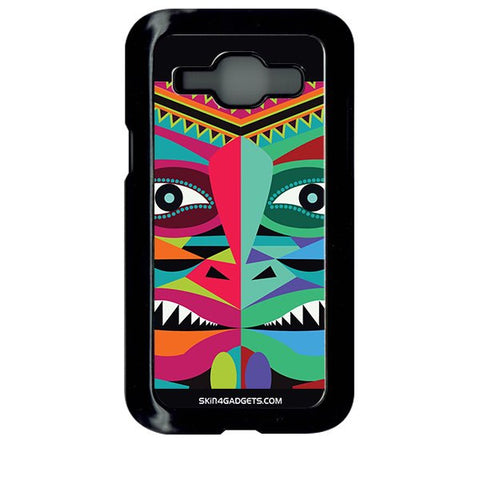 Tribal Face For SAMSUNG GALAXY J1 BLACK PRO CASE