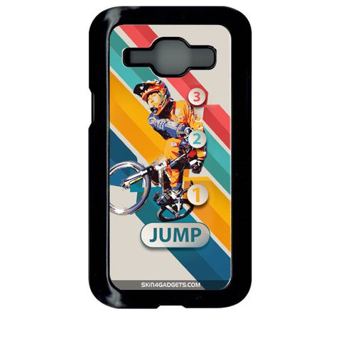 1 2 3 Jump For SAMSUNG GALAXY J1 BLACK PRO CASE