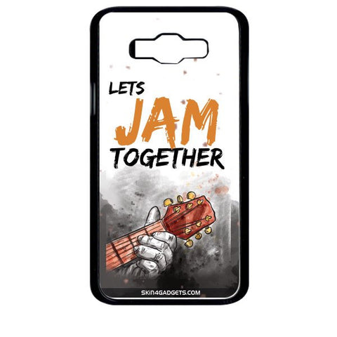 Lets Jam Together For SAMSUNG GALAXY J7 BLACK PRO CASE