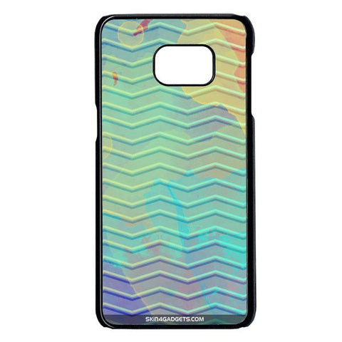 Colourful Waves For Samsung Galaxy Note 5 Edge BLACK PRO CASE
