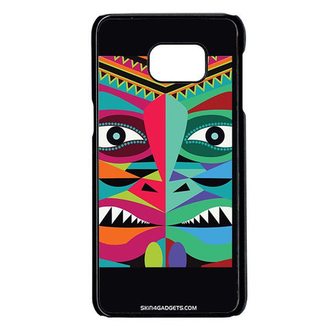 Tribal Face For Samsung Galaxy Note 5 Edge BLACK PRO CASE