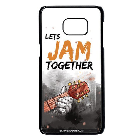 Lets Jam Together For Samsung Galaxy Note 5 Edge BLACK PRO CASE