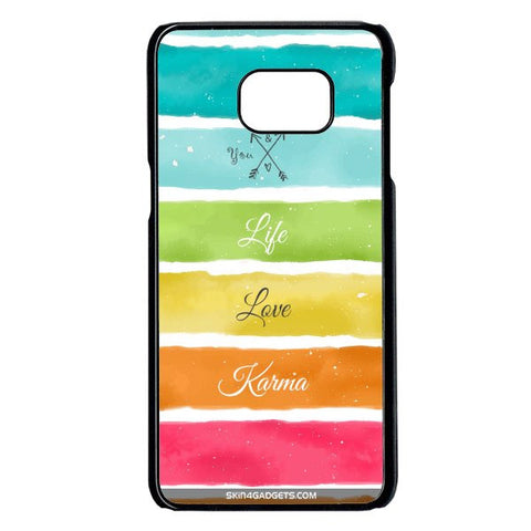Lets Love Life For Samsung Galaxy Note 5 Edge BLACK PRO CASE