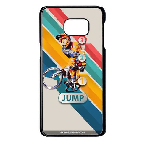 1 2 3 Jump For Samsung Galaxy Note 5 Edge BLACK PRO CASE