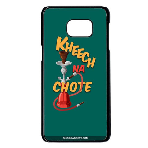 Kheech na Chote For Samsung Galaxy Note 5 Edge BLACK PRO CASE