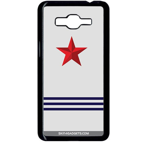 Star Strips For SAMSUNG GALAXY GRAND PRIME BLACK PRO CASE