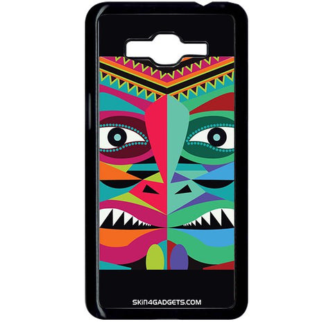 Tribal Face For SAMSUNG GALAXY GRAND PRIME BLACK PRO CASE
