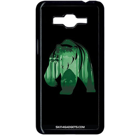 Bear For SAMSUNG GALAXY GRAND PRIME BLACK PRO CASE
