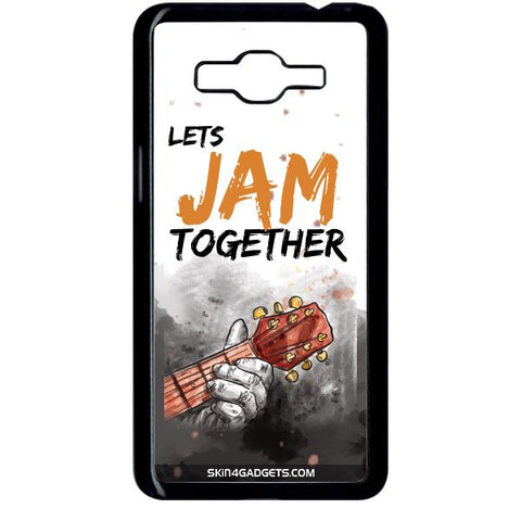 Lets Jam Together For SAMSUNG GALAXY GRAND PRIME BLACK PRO CASE
