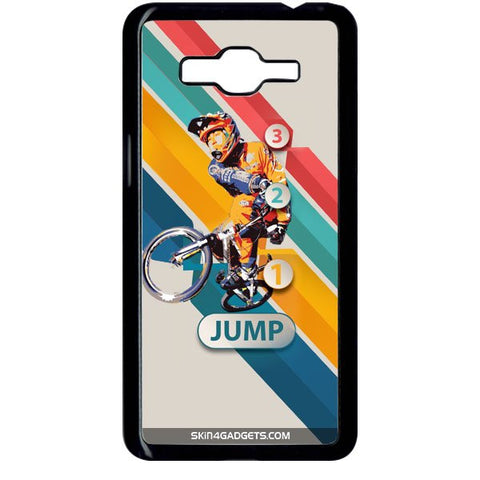 1 2 3 Jump For SAMSUNG GALAXY GRAND PRIME BLACK PRO CASE