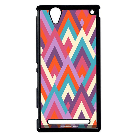 Peaks For Sony Xperia T2 Ulta BLACK PRO CASE