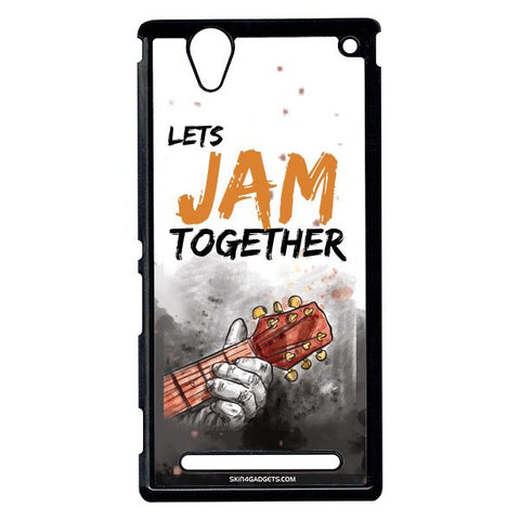 Lets Jam Together For Sony Xperia T2 Ulta BLACK PRO CASE