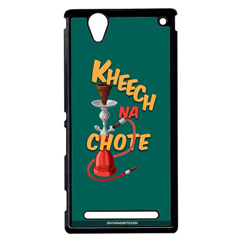 Kheech na Chote For Sony Xperia T2 Ulta BLACK PRO CASE