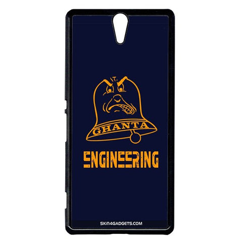 Ghanta Engineering  For Sony Xperia C5 BLACK PRO CASE