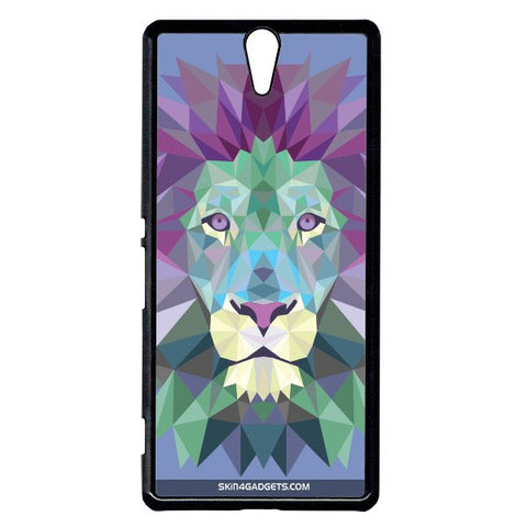 Magestic Lion For Sony Xperia C5 BLACK PRO CASE