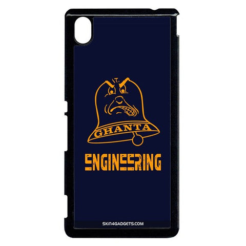 Ghanta Engineering  For Sony Xperia M4 BLACK PRO CASE