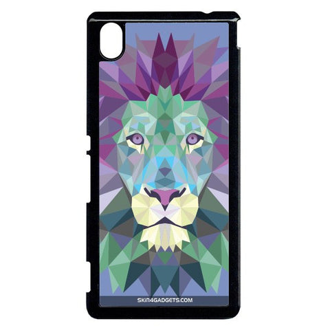 Magestic Lion For Sony Xperia M4 BLACK PRO CASE