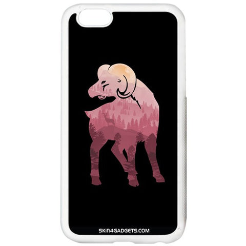 Mountain Goat For APPLE IPHONE 5S WHITE PRO CASE