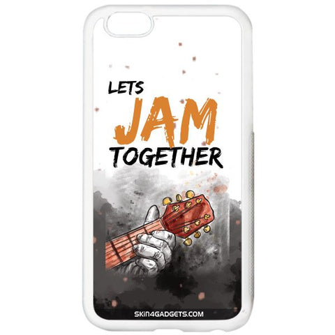 Lets Jam Together For APPLE IPHONE 5S WHITE PRO CASE