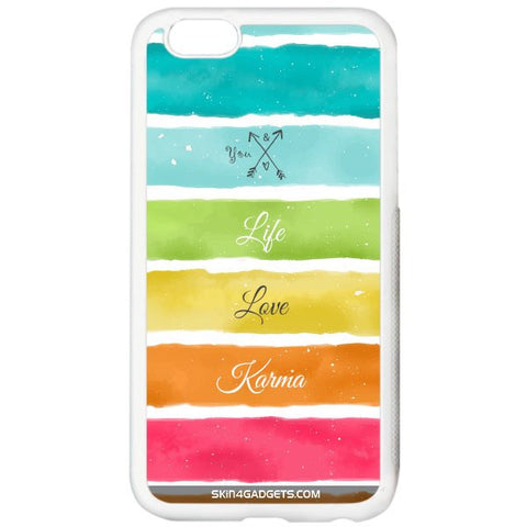 Lets Love Life For APPLE IPHONE 5S WHITE PRO CASE