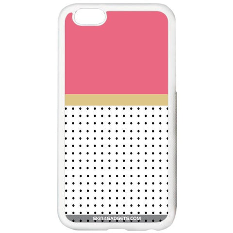 Dots For APPLE IPHONE 6S PLUS WHITE PRO CASE