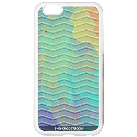 Colourful Waves For APPLE IPHONE 6S PLUS WHITE PRO CASE