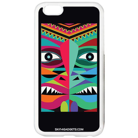 Tribal Face For APPLE IPHONE 6S PLUS WHITE PRO CASE