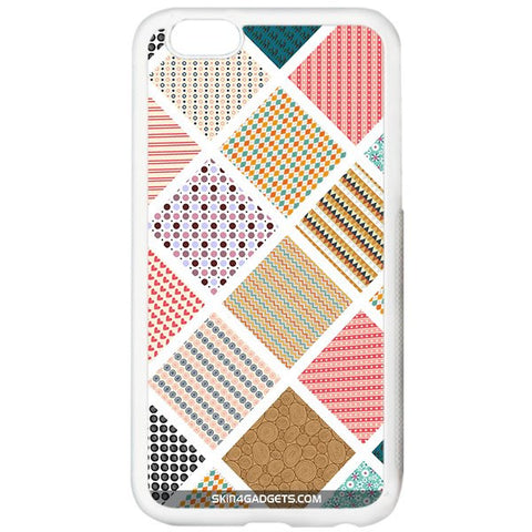 Varied Pattern For APPLE IPHONE 6S PLUS WHITE PRO CASE