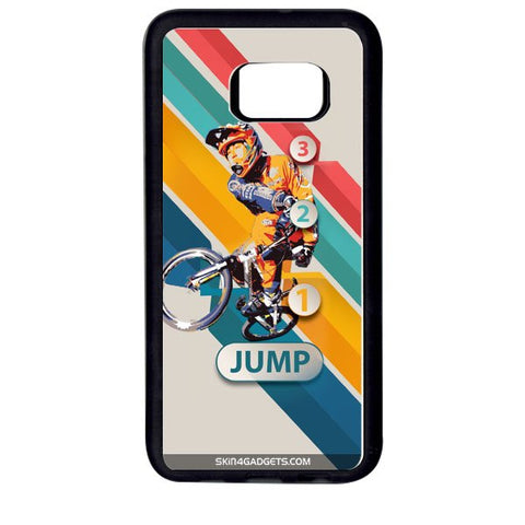 1 2 3 Jump For SAMSUNG GALAXY S6 EDGE+ WHITE PRO CASE