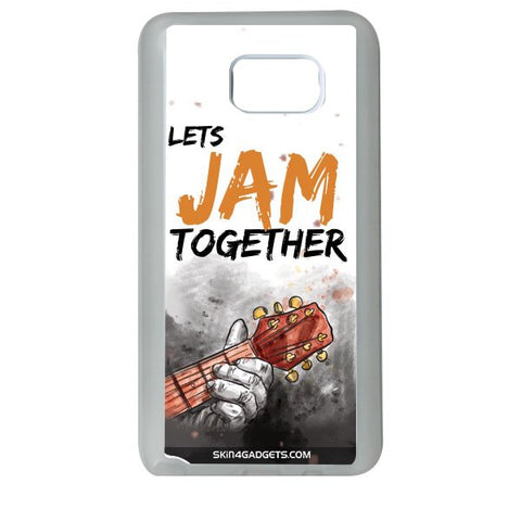 Lets Jam Together For SAMSUNG GALAXY NOTE 5 WHITE PRO CASE
