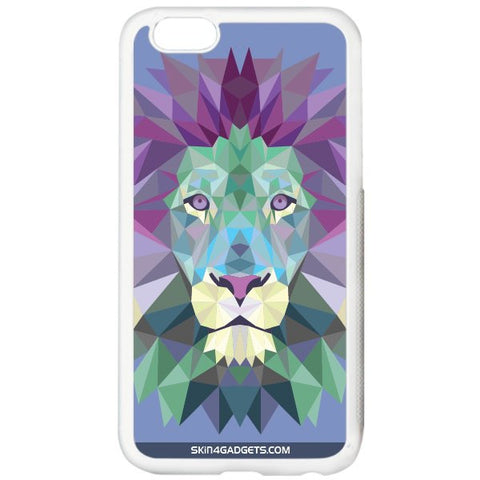 Magestic Lion For APPLE IPHONE 6S WHITE PRO CASE
