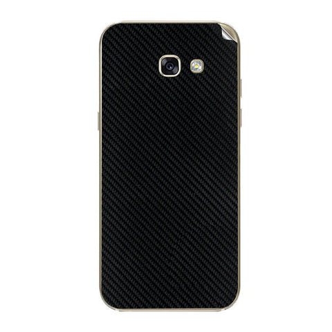 Samsung Galaxy A5 2017 Black Carbon Fiber Skin Sticker