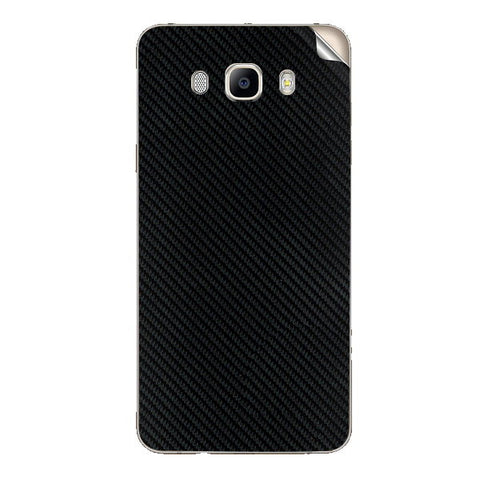 Samsung Galaxy j7 2016 Black Carbon Fiber Skin Sticker