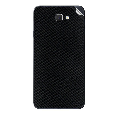 Samsung Galaxy J7 Prime Black Carbon Fiber Skin Sticker
