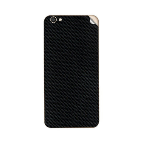 Vivo V5 Black Carbon Fiber Skin Sticker - skin4gadgets