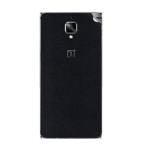 OnePlus 3 Black Shine Skin Sticker