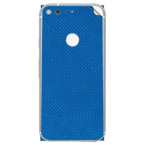google pixel xl Blue Carbon Skin Sticker