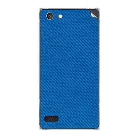 Oppo A33f Neo 7 Blue Carbon Skin Sticker