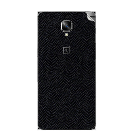 OnePlus 3 Leather Texture Skin Sticker
