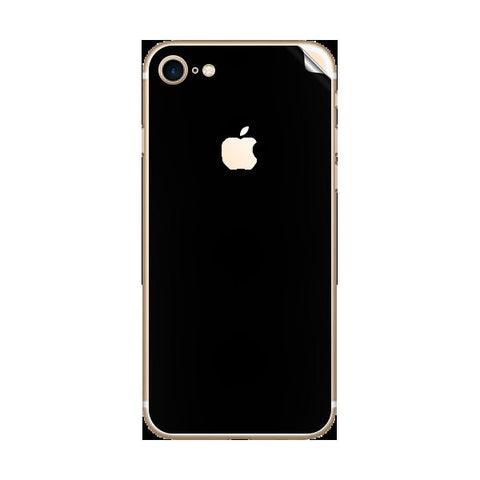 iPhone 7 Black Matte Skin Sticker - skin4gadgets