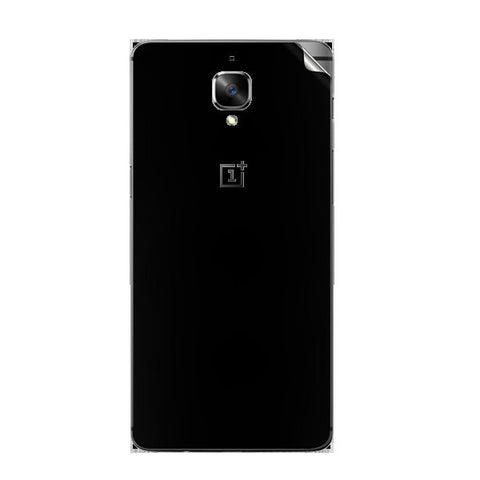 OnePlus 3 Black Matte Skin Sticker