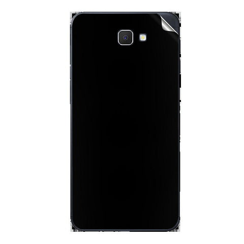 Samsung Galaxy J7 Prime Black Matte Skin Sticker