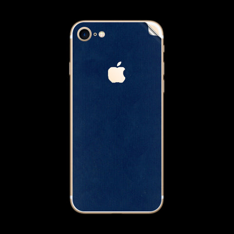 iPhone 7 Blue Matte Skin Sticker
