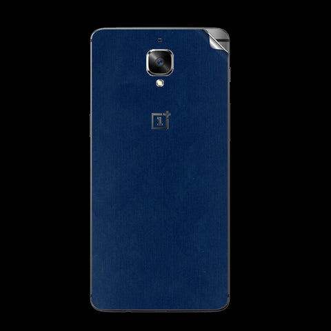 OnePlus 3 Blue Matte Skin Sticker