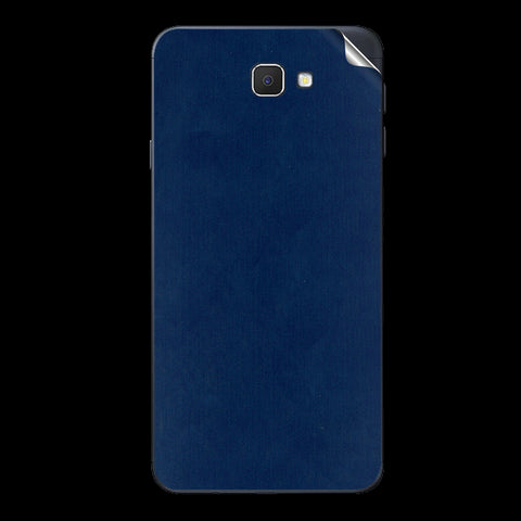 Samsung Galaxy J7 Prime Blue Matte Skin Sticker