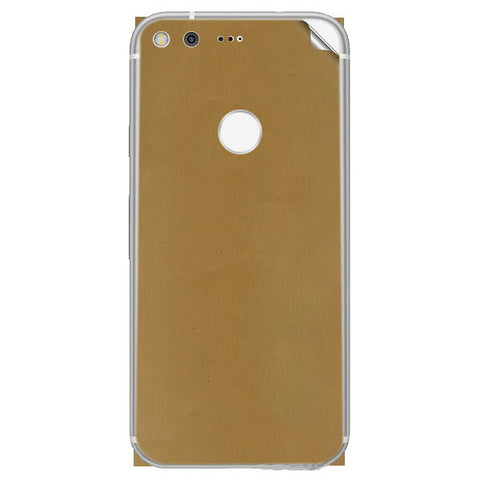 google pixel xl Gold Matte Skin Sticker