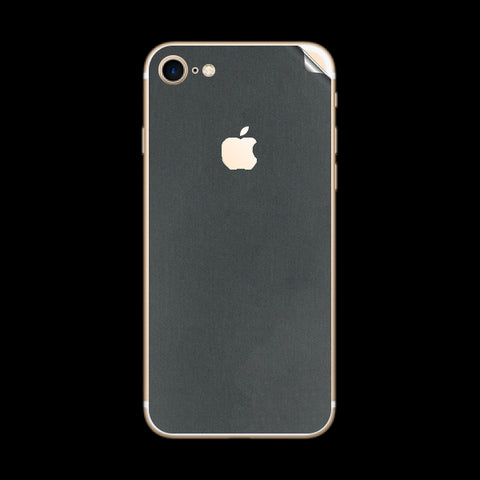 iPhone 7 Grey Matte Skin Sticker