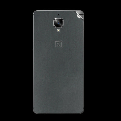 OnePlus 3 Grey Matte Skin Sticker