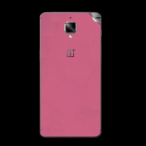 OnePlus 3 Pink Shine Skin Sticker