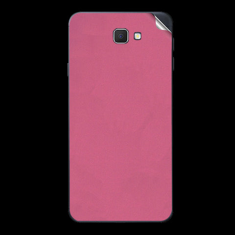 Samsung Galaxy J7 Prime Pink Shine Skin Sticker